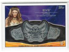 2015 TOPPS WWE EVE DIVAS CHAMPIONSHIP COMMEMORATIVE CHAMPIONSHIP PLATE