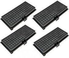 4x Filter for Miele S314 S316 S318 S323i S324i S328i S334i S336i S338i S344i