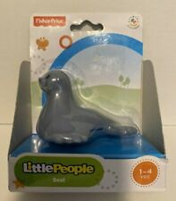 Fisher Price Little People SEAL Gray Animal Figure 2013 BGN58 New in Package