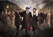 PEAKY BLINDERS CULT TV PRE-PRINTED AUTOGRAPH METAL SIGN HOME DECOR:GIFT