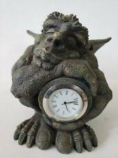 Wingged Gargoyle Clock