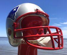 RARE New England Patriots CURTIS MARTIN Signed in1996 F/S NFL Helmet HOF '12 COA