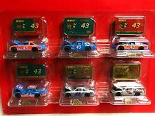 XRARE 6-1:64 Bobby Hamilton #43 STP Richard Petty Racing Die-Cast NASCAR SET