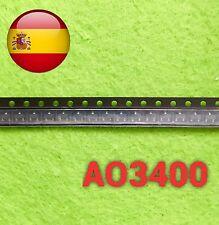5pcs AO3400 A09t a01t n-canal transistor mosfet sot-23 smd envío rápido España