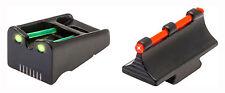 NEW! Truglo TG110W  Fiber Optic Sight Set - Remington Red/Green
