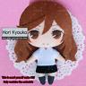 Horimiya Hori Kyouko Anime DIY Handmade Toy keychain Bag Hanging Plush Doll Gift