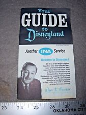 Vintage Disney 1966 Your Guide To Disneyland Brochure by Ina With Postcard More