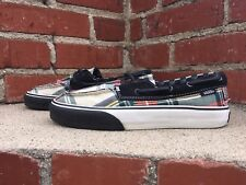 Vans Zapato Del Barco Canvas Skateboard or Boat Sneaker Men Size 6.5 Women Sze 8