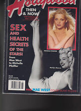 Hollywood Then & Now Marilyn Monroe Michelle Pfeiffer Mae West  June 1990