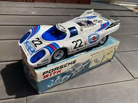 Taiyo Japan Porsche 917K In Its Original Box - Bump & Go Fully Working Rare