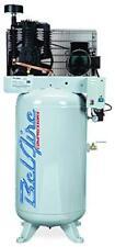 Belaire 318vn 5hp 208 230v 1ph 2 Stage 80 Gallon Vertical Air Compressor 185cfm