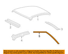 FORD OEM 03-11 Crown Victoria Roof-Weatherstrip Seal Right 2W7Z5451822AA
