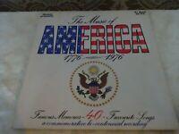 The Music of America 1776-1976 40 Songs Original LP Album Record Vinyl