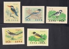 Korea. 1965 Sc # 634-38 Birds Impf. Ngai (3-3114)