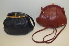 Pair of estate leather purses Lot 198