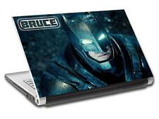 Batman V Superman Personalized LAPTOP Skin Vinyl Decal Sticker WITH NAME L184