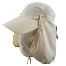 Outdoor Hiking Folding Protection Block Fish UV US Cap Nylon Hat 360 Visor Sun