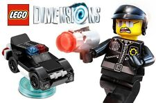 LEGO MOVIE BAD COP ~ Dimensions 3 in 1 Set w/ Police Minifigure # 71213  * NEW *