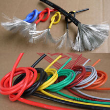 2M Flexible Soft Tinned OFC Copper Silicone Wire RC Cable ROHS UL 2-30AWG