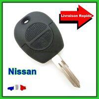 Coque Télécommande Plip Bouton Clé Nisan  X-TRAIL  NAVARA + Lame vierge NSN11T