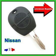Coque Télécommande Plip Bouton Clé Nisan  PATROL + Lame vierge NSN11T