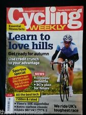 CYCLING WEEKLY - LOVE HILLS - OCT 8 2009