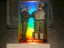 """2013 TOPPS 75TH ANNIVERSARY """"LOST IN SPACE"""" RAINBOW FOIL PARALLEL CARD #39"""