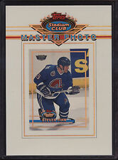 1994 Stadium Club Members Only Master Photo Steve Finn Quebec Nordiques