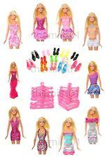More details for 30pcs barbie doll dresses clothes accessories including 10 high quality dresses