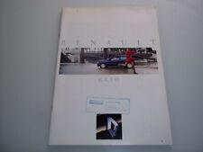 Prospekt Renault Clio - Ausgabe August 1992 !!! Seltene + gut erhaltene Rarität