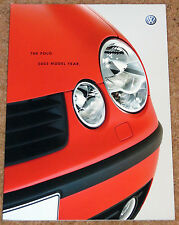 2003 Model Year VW POLO Sales Brochure - Sport SE S E - Excellent