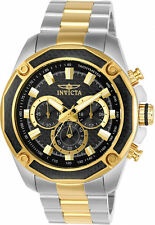 Invicta Men's Aviator Chronograph 100m Two Tone Stainless Steel Watch 22806