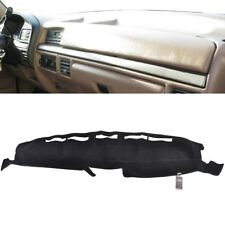 Fits 1992-1996 Ford F150 F250 Dash Cover Mat Dashboard Cover / Black