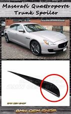 2013+ ALL COLOR MASERATI QUATTROPORTE SK DESIGN REAR TRUNK LIP SPOILER