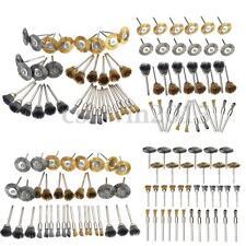 36Pcs Brass Steel Wire Brush Polishing Wheels Full kit for   Rotary Tools
