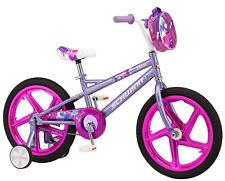 "18"" Schwinn Shine Girl's Bike Training Wheels Included Rear Coaster Brakes Pink"