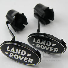 RANGE Rover Sport nero sovralimentato interni COPPA PORTA BADGE DISTINTIVI Coppia Set