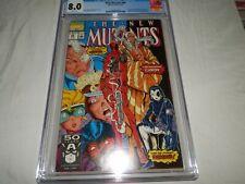 The New Mutants #98 1st Deadpool CGC 8.0 Freshly Graded