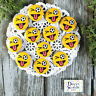 """12 Soccer Funny Smile Pins 1.25"""" Pin BUTTONS BADGES party favor gift pinback USA"""