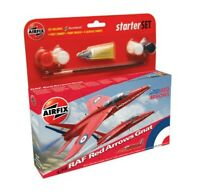 AIRFIX 55105 RAF RED ARROWS GNAT plastic model STARTER kit 1:72th scale