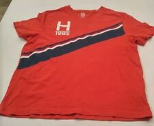 Tommy Hilfiger t-shirt - Box Logo & Tommy Stripe- Men's Small
