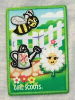 Girl Scout Scouts Patch Badge Daisy Journey Award flower garden