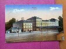 Erster Weltkrieg (1914-18) Frankierte Ansichtskarten mit Eisenbahn & Bahnhof