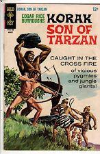 1967 Korak Son of Tarzan #18 VF Giant of Clay; Mabu