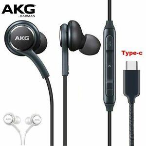 Akg Type-C Samsung Galaxy S21 S20 Ultra Note 10 20 Earphones Headphones Earbuds