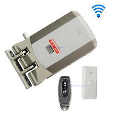 Wireless Door Lock Electric Home Anti-theft Lock For Home Office& Remote Control