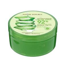 NATURE REPUBLIC ALOE VERA 92% Soothing Gel 300ml 10.56 fl.oz moisture sample