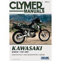 1987-2007 Kawasaki KLR650 KL650 KL KLR 650 CLYMER REPAIR MANUAL M474