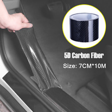 Car Anti Scratch Stickers 5D Carbon Fiber Vinyl Roll Decals Film Door Protector