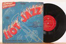 """Sarah Vaughan 10"""" LP """"Hot Jazz"""" ~ Remington 1024 ~ RARE Jazz"""